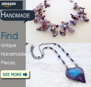 Handmade Enameled Copper Jewelry and Pearls at Amazon Handmade