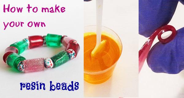 make resin beads