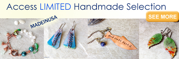 Limited Handmade Jewelry Selection